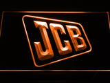 JCB Tractors Service LED Sign - Orange - TheLedHeroes