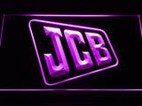 JCB Tractors Service LED Sign - Purple - TheLedHeroes