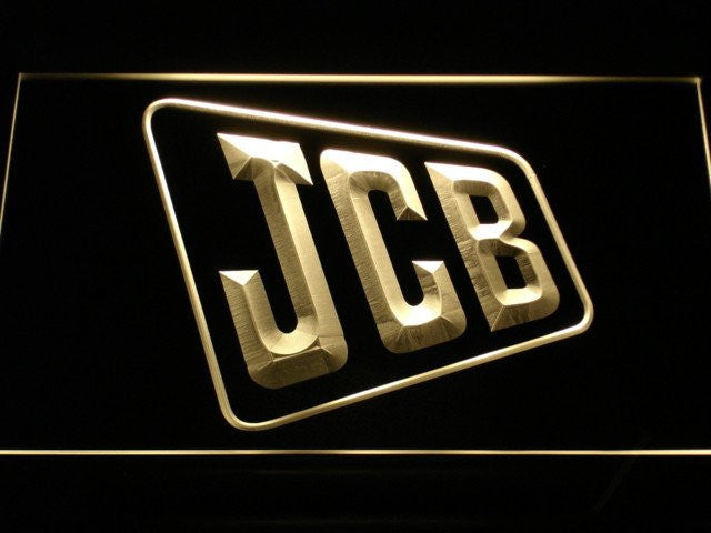JCB Tractors Service LED Sign - Multicolor - TheLedHeroes