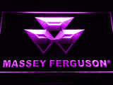 Massey Ferguson Tractor LED Sign - Purple - TheLedHeroes