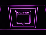 Oliver Tractor LED Sign - Purple - TheLedHeroes