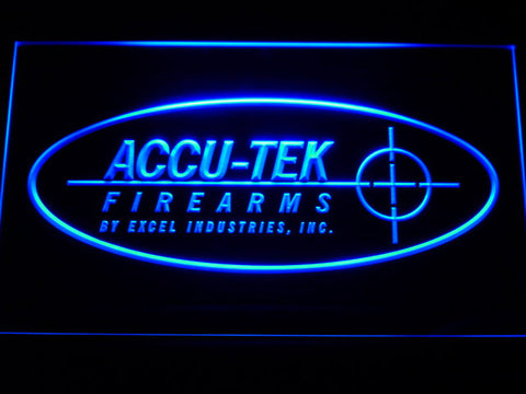 ACCU-TEK Firearms LED Sign -  Red - TheLedHeroes