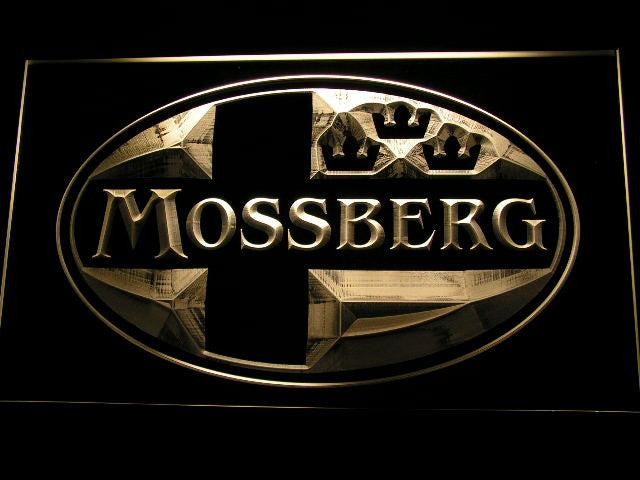 Mossberg Firearms Gun Logo LED Sign - Multicolor - TheLedHeroes