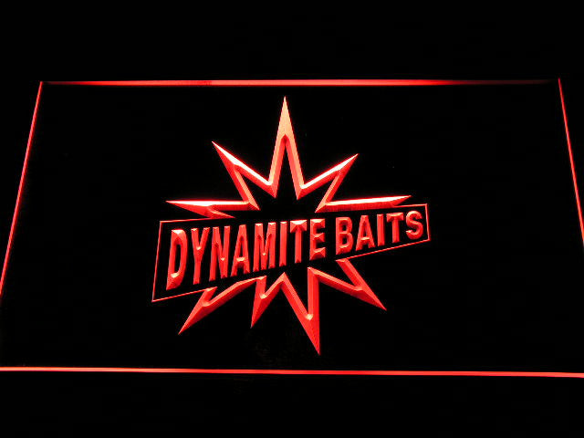 Dynamite Baits Fishing Logo LED Sign - Red - TheLedHeroes