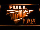 Full Tilt Poker LED Sign - Orange - TheLedHeroes