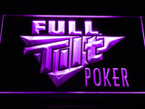 Full Tilt Poker LED Sign - Purple - TheLedHeroes