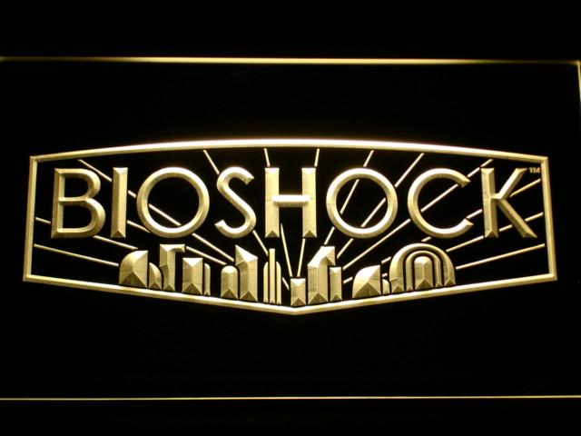 Bioshock LED Neon Sign USB - Yellow - TheLedHeroes
