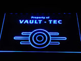 FREE Fallout Vault-Tec LED Sign - Blue - TheLedHeroes