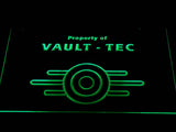 FREE Fallout Vault-Tec LED Sign - Green - TheLedHeroes