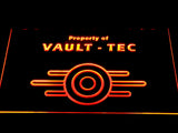 FREE Fallout Vault-Tec LED Sign - Orange - TheLedHeroes