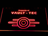 FREE Fallout Vault-Tec LED Sign - Red - TheLedHeroes