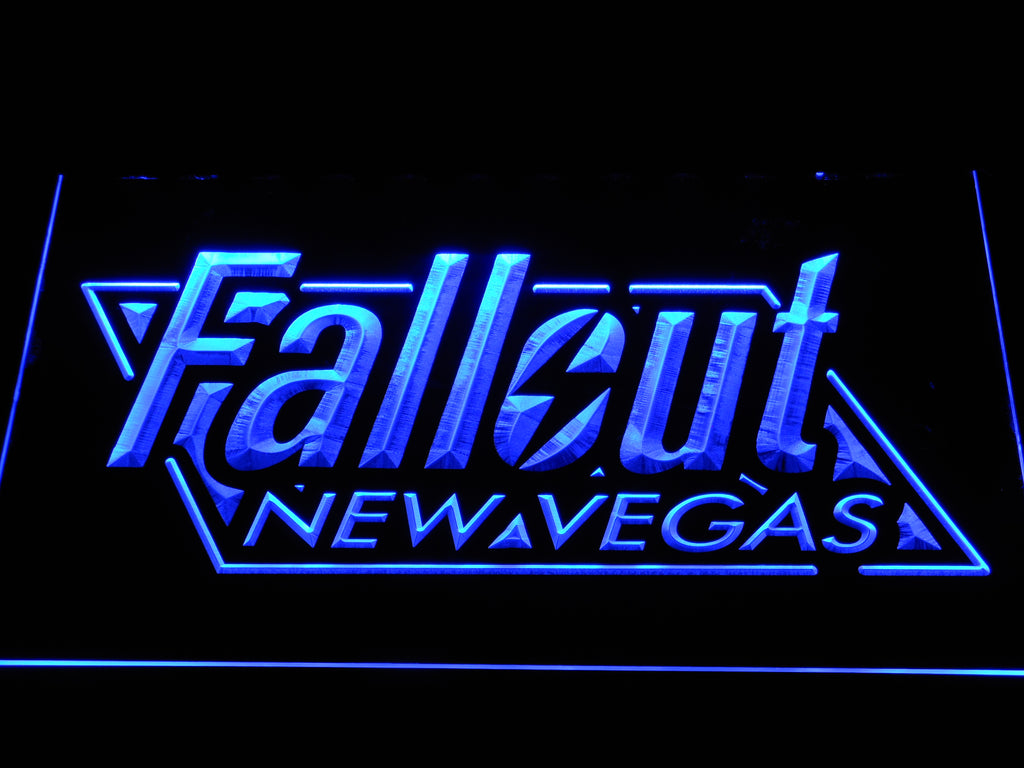 FREE Fallout New Vegas Led Sign - Blue - TheLedHeroes