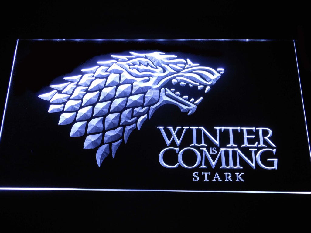 Game of Thrones Stark LED Sign - Normal Size (12x8in) - TheLedHeroes