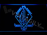 1st Battalion 1st Marines LED Neon Sign USB - Blue - TheLedHeroes