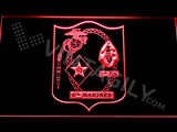 FREE 1st Battalion 6th Marines LED Sign - Red - TheLedHeroes