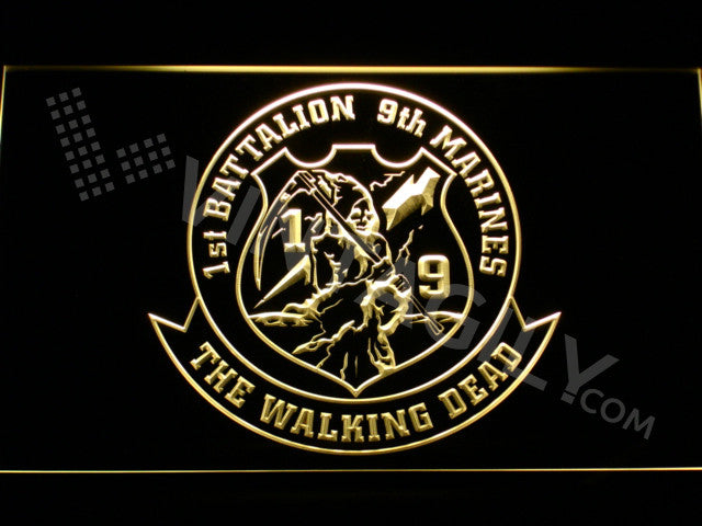 1st Battalion 9th Marines LED Sign