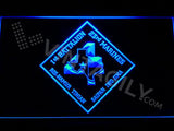 1st Battalion 23rd Marines LED Neon Sign USB - Blue - TheLedHeroes