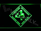 1st Battalion 23rd Marines LED Neon Sign USB - Green - TheLedHeroes