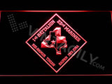 1st Battalion 23rd Marines LED Neon Sign Electrical - Red - TheLedHeroes