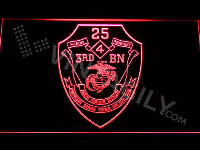 3rd Battalion 25th Marines LED Sign