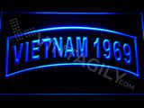 FREE Vietnam 1969 LED Sign - Blue - TheLedHeroes