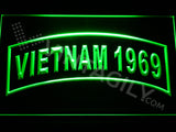 FREE Vietnam 1969 LED Sign - Green - TheLedHeroes
