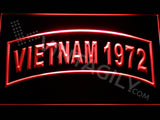 FREE Vietnam 1972 LED Sign - Red - TheLedHeroes