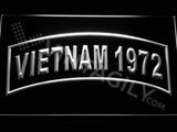 FREE Vietnam 1972 LED Sign - White - TheLedHeroes
