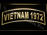 FREE Vietnam 1972 LED Sign - Yellow - TheLedHeroes