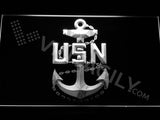 FREE US Navy LED Sign - White - TheLedHeroes