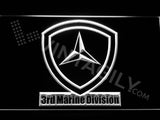 3rd Marine Division LED Sign