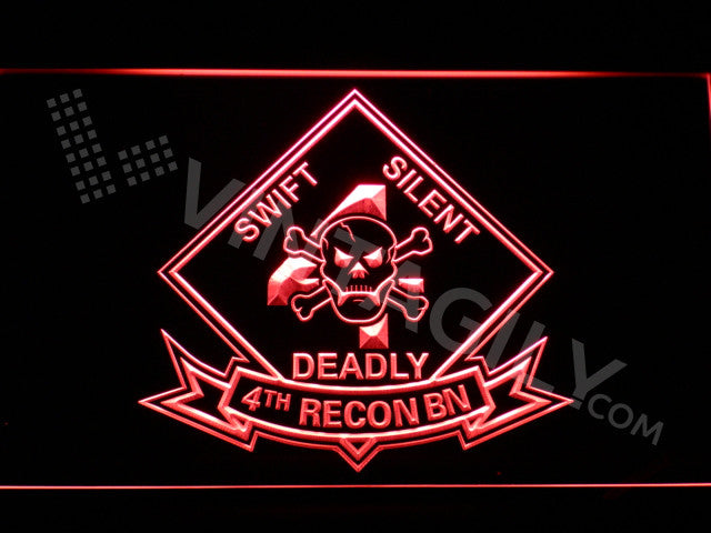 4th Reconnaissance Battalion LED Sign