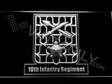 16th Infantry Regiment LED Neon Sign USB - White - TheLedHeroes