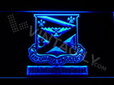 18th Infantry Regiment LED Neon Sign Electrical - Blue - TheLedHeroes