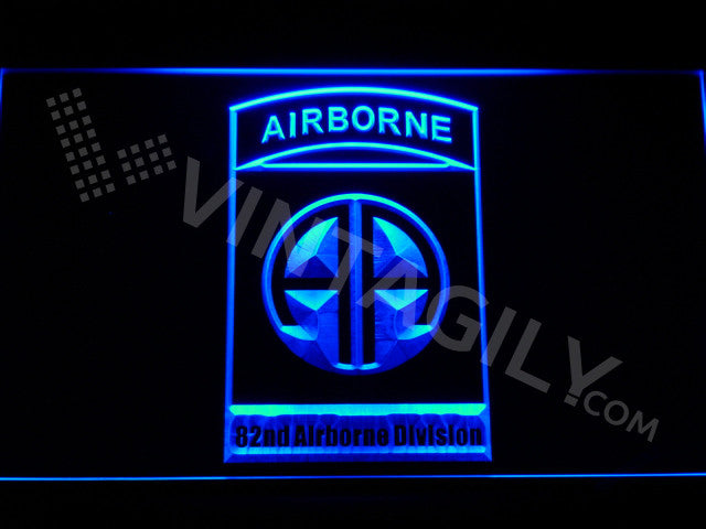 82nd Airborne Division LED Sign