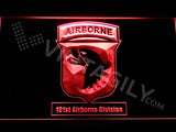 FREE 101st Airborne Division LED Sign - Red - TheLedHeroes