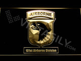 101st Airborne Division LED Neon Sign Electrical - Yellow - TheLedHeroes