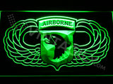 101st Airborne Division Wings LED Sign - Green - TheLedHeroes