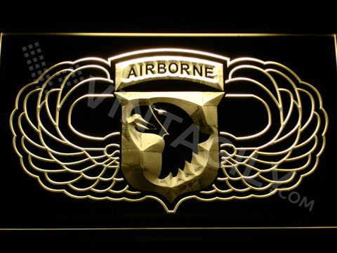 101st Airborne Division Wings LED Sign