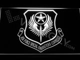 Air Force Special Operations Command LED Sign - White - TheLedHeroes