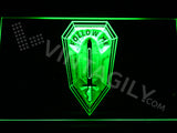US Army Infantry School LED Sign - Green - TheLedHeroes