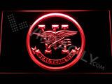 FREE SEAL Team Six LED Sign - Red - TheLedHeroes