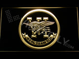 FREE SEAL Team Six LED Sign - Yellow - TheLedHeroes