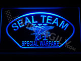 FREE SEAL Team Six 4 LED Sign - Blue - TheLedHeroes