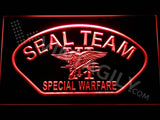 FREE SEAL Team Six 4 LED Sign - Red - TheLedHeroes