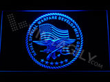 FREE US Naval Special Warfare Development Group LED Sign - Blue - TheLedHeroes