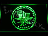 FREE US Naval Special Warfare Development Group LED Sign - Green - TheLedHeroes