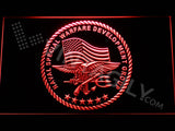 FREE US Naval Special Warfare Development Group LED Sign - Red - TheLedHeroes