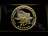 FREE US Naval Special Warfare Development Group LED Sign - Yellow - TheLedHeroes
