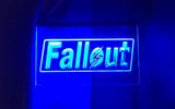 FREE Fallout LED Sign - Blue - TheLedHeroes